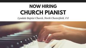 Now Hiring: Church Pianist