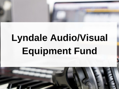 Audio/Visual Equipment Fund