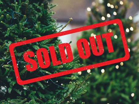 Christmas Trees Sold Out!