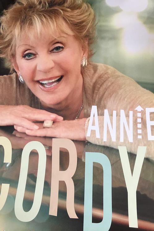 Affiche dédicacée par Annie Cordy (50 exemplaires)