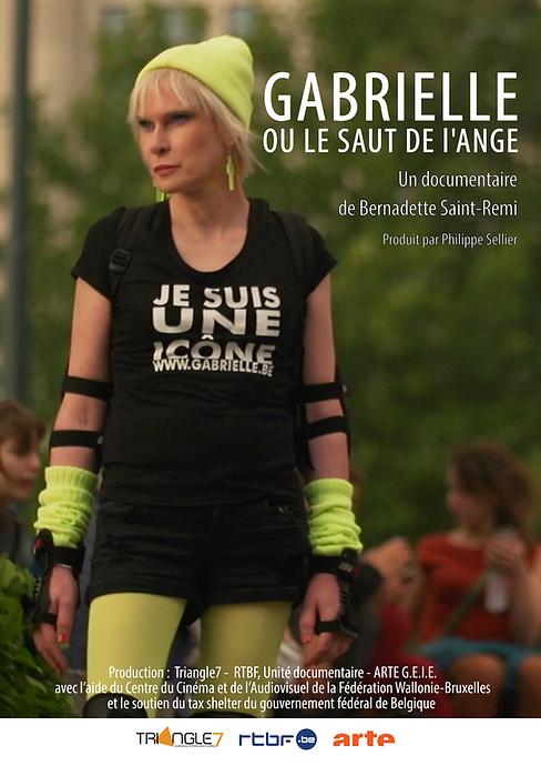 GABRIELLE OU LE SAUT DE L'ANGE-Affiche-A