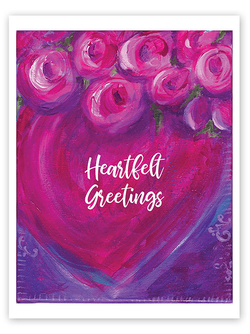 Heartfelt Greetings Card