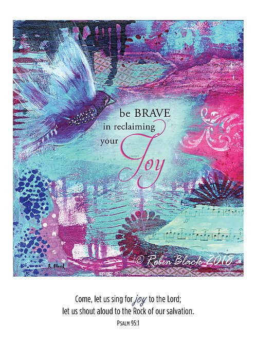 Reclaiming Joy greeting card
