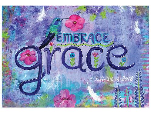 Embrace Grace greeting card