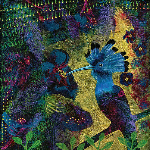 God's Jewels—Hoopeo original mixed media painting