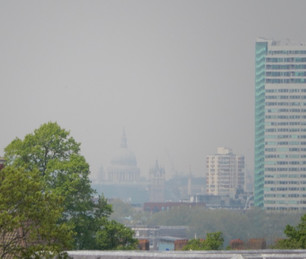 View of St Paul's from Greenwich Park
