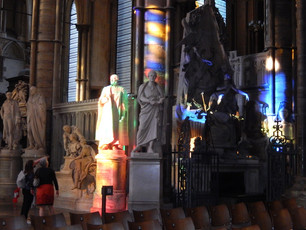 Early evening light in Westminster Abbey