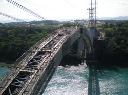 ワルミ大橋斜吊り