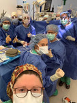 All female General Surgery and Orthopaedic team