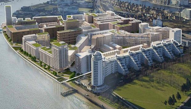 Royal Wharf, Plot 13