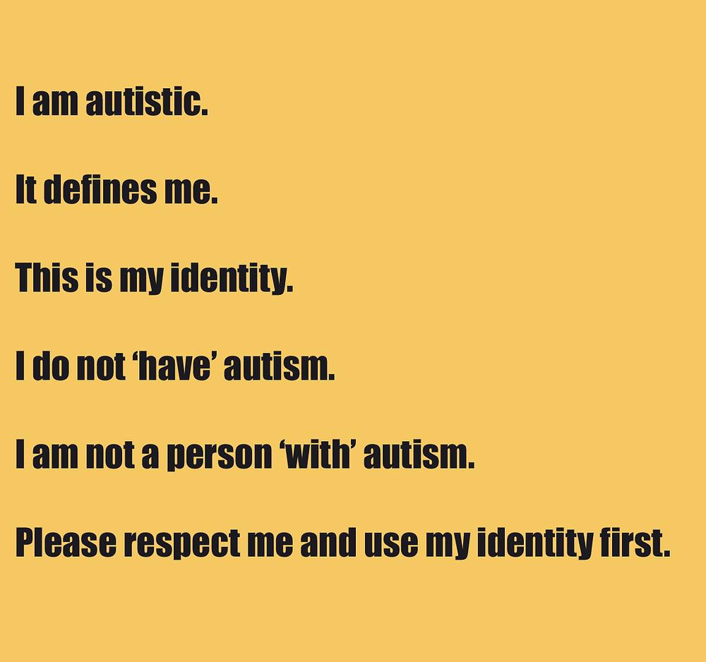 Autistic Identity Explanation