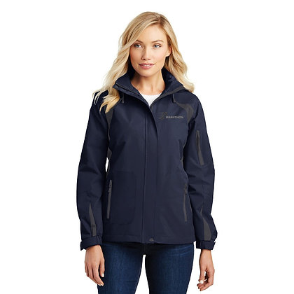 Fleece Lined Rain Jacket L304