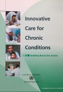 Innovative Care for Chronic Conditions publication by Dr. Sheri Pruitt, Sheri Pruitt, Behavior, Psychologist, Evidence Based Answers