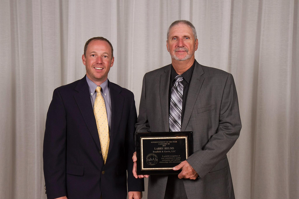Marathon Electrical Contractors, Superintendent of the Year , Brasfield & Gorrie