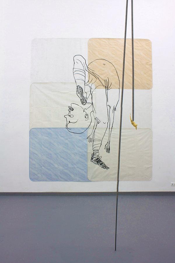 catherine biocca duesseldorf kunstakademie rundgang 2013