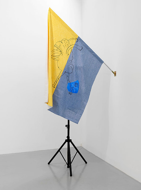 catherine biocca charmante animated flag greengrassi london group show 2016
