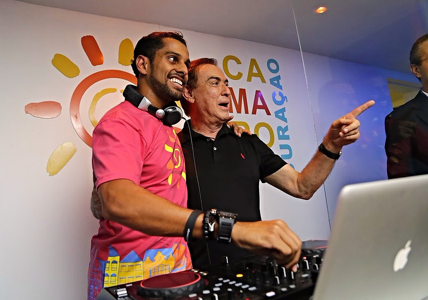 Daniel Mureno e Amaury Jr