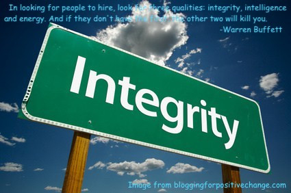 What does integrity tell you?