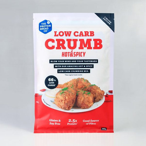 LOW CARB BREAD CRUMBS - HOT& SPICEY  340Grams