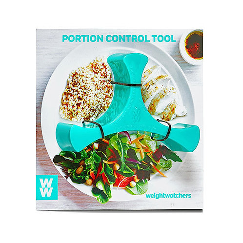 WEIGHT WATCHERS PORTION CONTROL FOOD PLATE DIVIDER