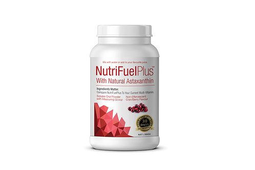NUTRIFUEL PLUS incl. NATURAL ASTAXANTHIN 1 X Btl Soluble Oral Powder.