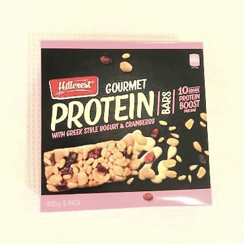 GOURMET PROTEIN BAR WITH GREEK STYLE YOGURT & CRANBERRY - 5 PACK