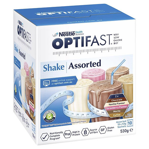 OPTIFAST VLCD ASSORTED SHAKES (12)