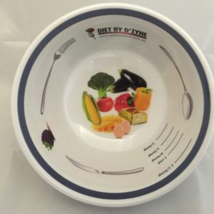 PORTION CONTROL BOWL - MELAMINE