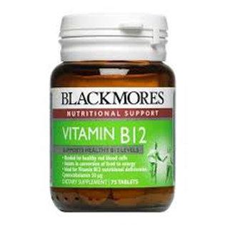 Blackmore's Vitamin B12 Tablet-75 Tablets-100 Micrograms/Tablet