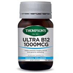 ULTRA SUBLINGUAL B12 TABLET - 100 Tablets - 1000mcg ea