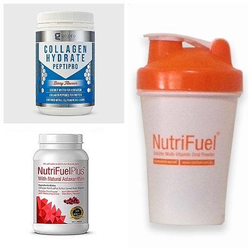 OPTIMAL BARIATRIC TASTE BLEND = 1 X NUTRIFUEL PLUS +1 X COLLAGEN PROTEIN POWDER