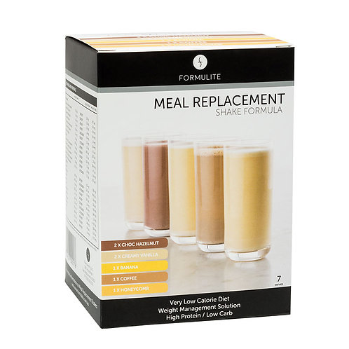 FORMULATE VLCD MEAL REPLACEMENT SHAKE SAMPLE PACK