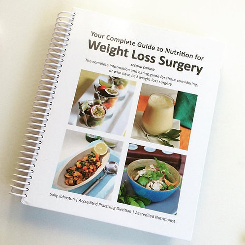 The Complete Guide to Weight Loss Surgery Book.