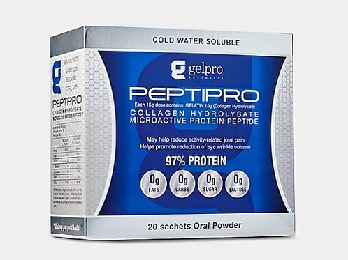 PEPTIPRO PROTEIN POWDER SACHETS - TASTLESS - WATER SOLUBLE