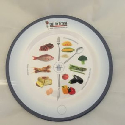 PORTION CONTROLE PLATE - SMALL - MELEMINE