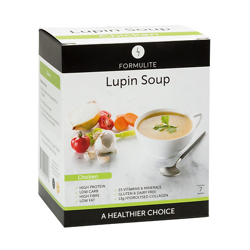 FORMULITE LUPIN SOUP CHICKEN BOX (7 SACHETS)