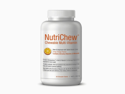NUTRICHEW CHEWABLE MULTIVITAMIN/MULTIMINERAL (60 Tablets)