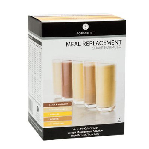 FORMULITE WATER SOLUBLE MIXED MEAL REPLACEMENT SHAKES PACK - 7 SACHETS