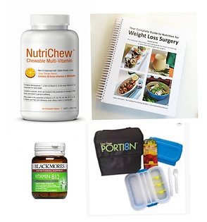 SLEEVERS STARTER BUNDLE - MULTIVITAMIN/COOKBOOK/VITAMIN B12/PORTION ESKY.