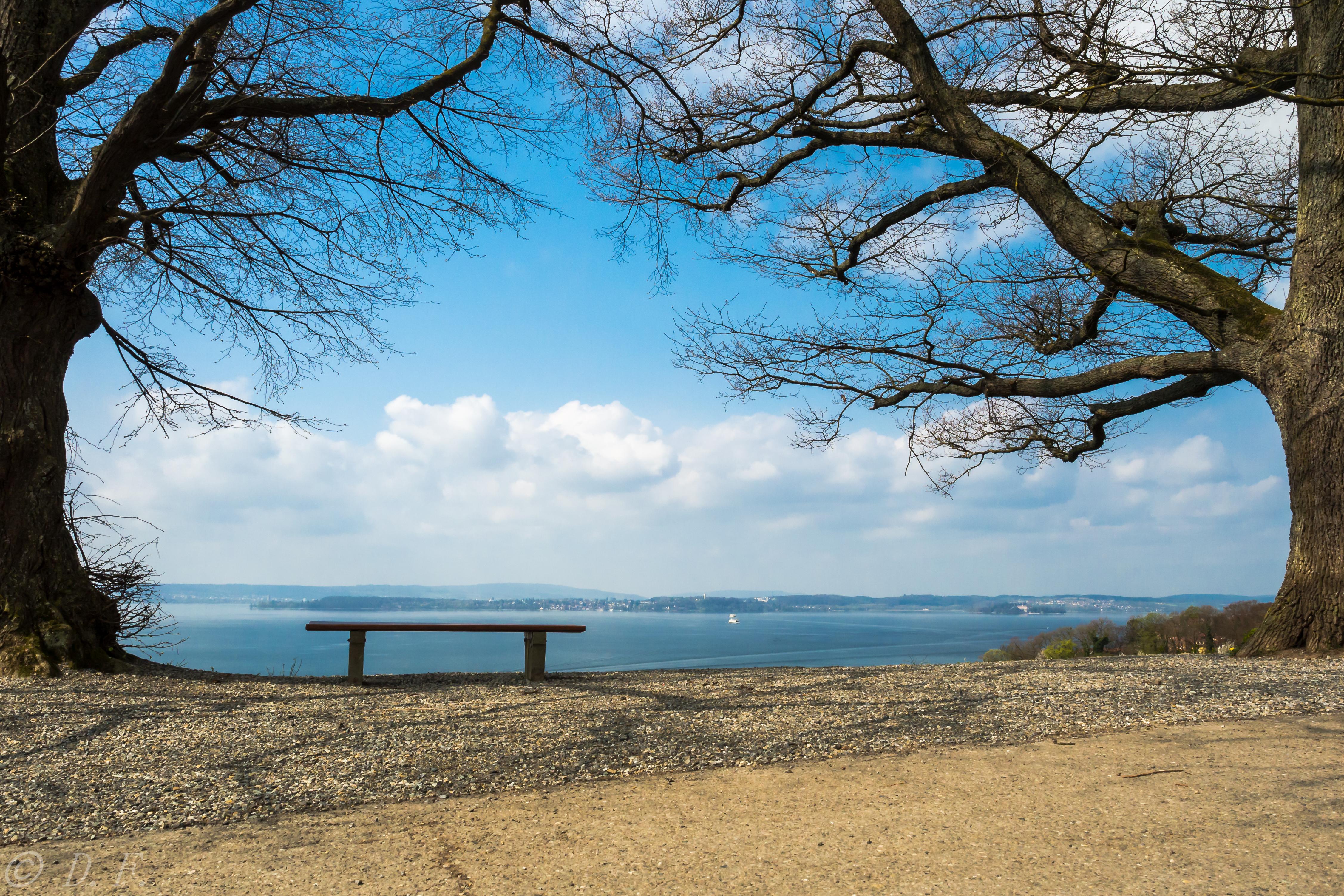 Ausblick auf Bodensee