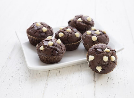 Low Carb Nutella Stuffed Muffins