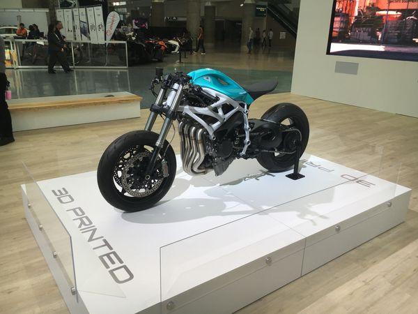 Moto 3D impresa