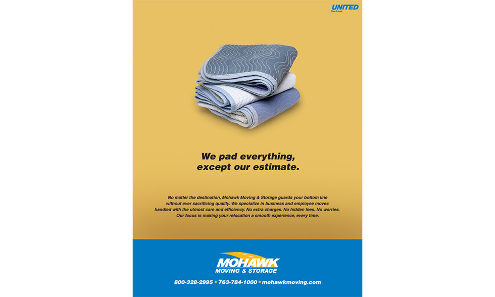 Print Ad for Mohawk Moving