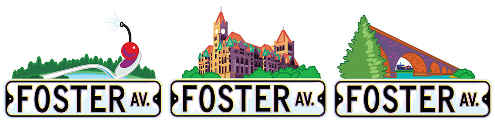Foster Avenue Website Icons