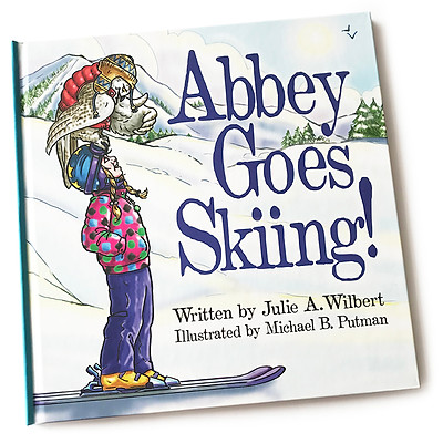 Abbey Goes Skiing