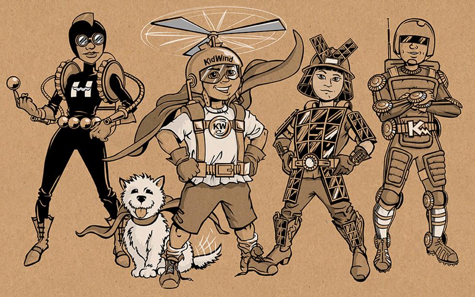 The Kid Wind Team