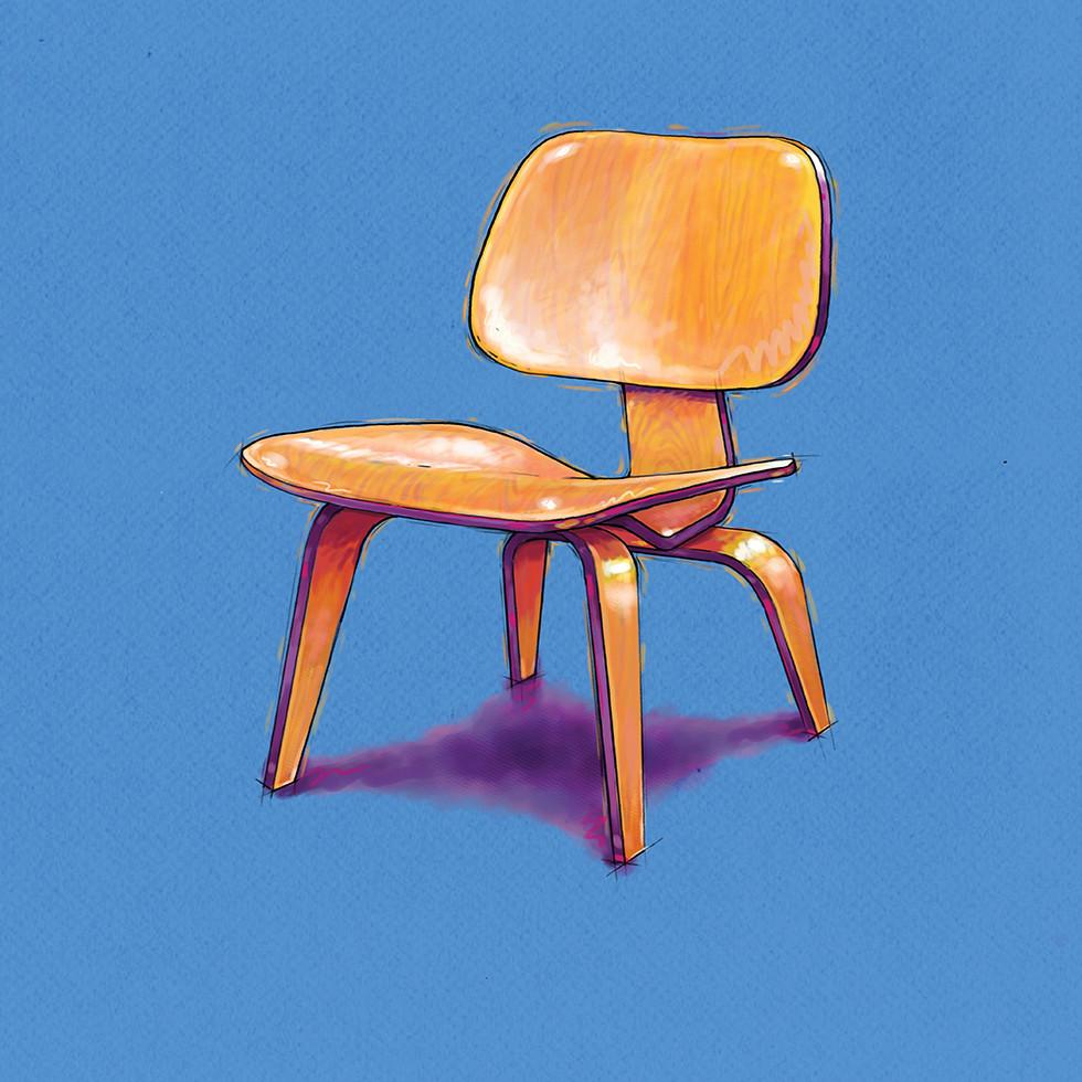 Print Ad Series - Eames Chair