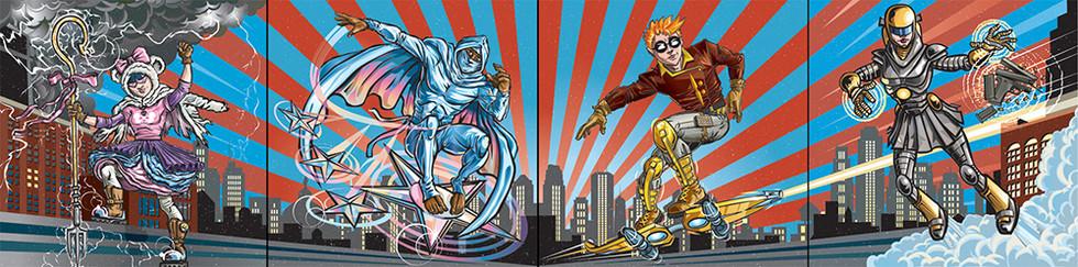 Teenage Urban Superheroes