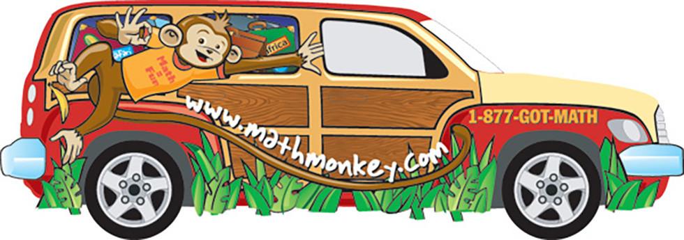 Math Monkey Woody Van
