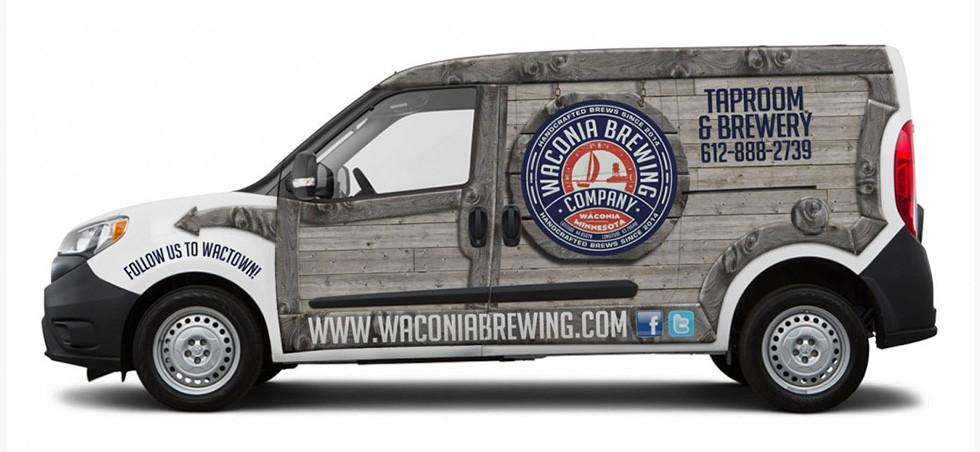 Waconia Brewing Van